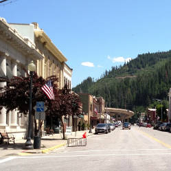 WALLACE COUNTY - SILVER VALLEY, IDAHO