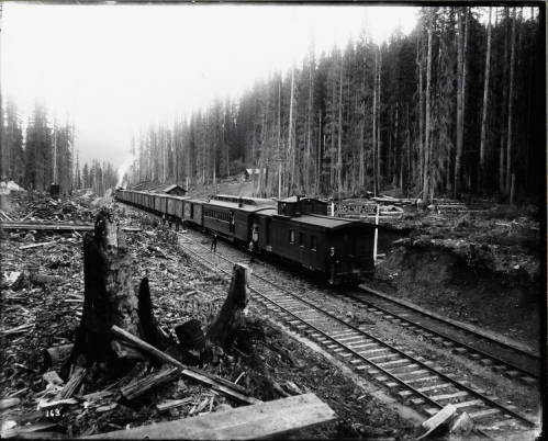 Coeur d'Alene Divide Idaho-Montana border 1890