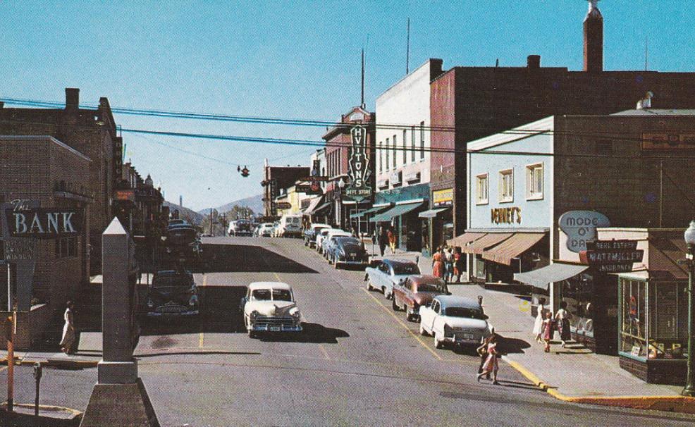 Kellogg Main & Division 1953