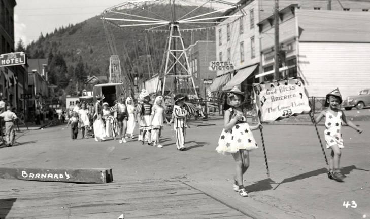 Mullan 49'er parade 1941