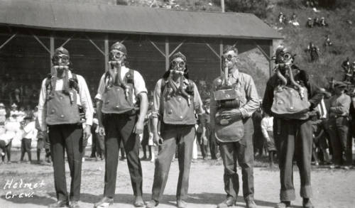 Mullan Mine rescue competition 1923