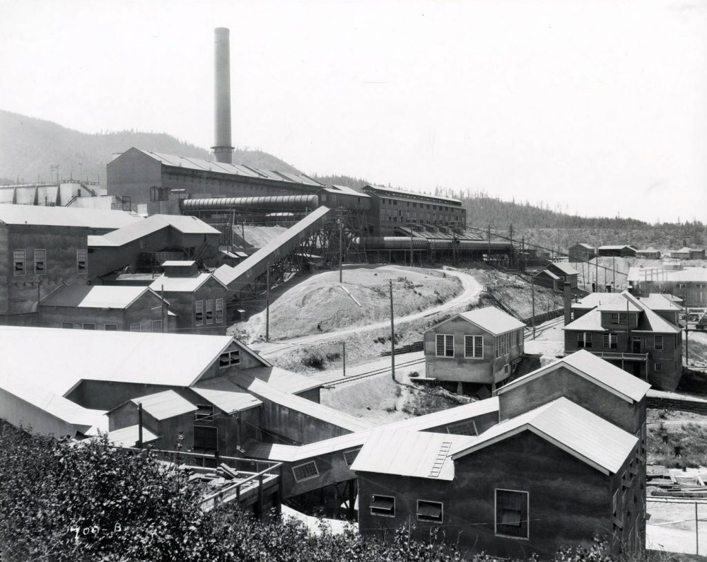 Smelterville 1924 Bunker Hill and Sullivan Smelter