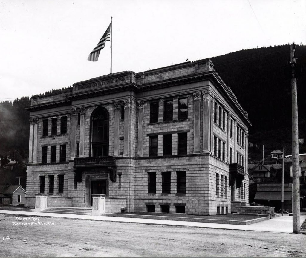 Wallace Shoshone County Court House, 1907