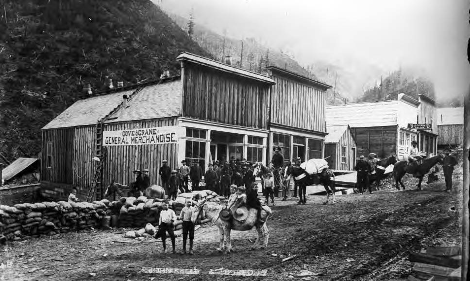 Wardner 1886 - silver discovering Jackass