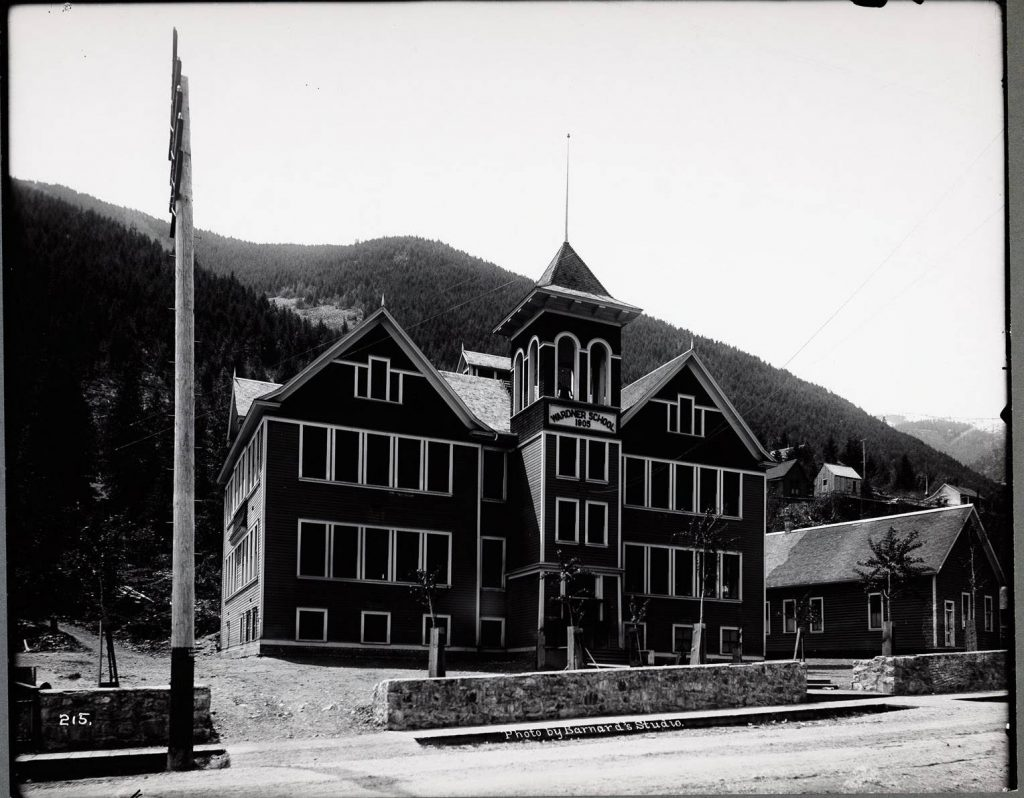 Wardner School 1907